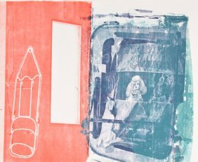 Robert Rauschenberg Lithograph, Signed Limited Edition