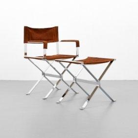 Alessandro Albrizzi Arm Chair & Ottoman