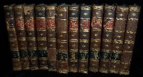"""12 Leatherbound Books, As Is.""""Gibbons Roman Empire"""""""