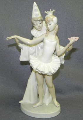 "Lladro ""Carnival Couple"" Figurine."