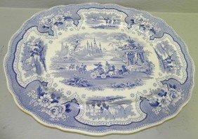 Palestine Pattern Transfer Platter
