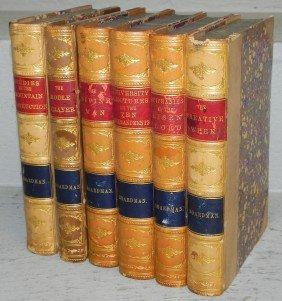 (6) Leather Bound Books By Boardman. 1878.
