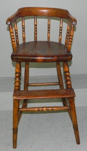 Child's 19th Century High Chair.