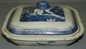 Early Canton Covered Dish.