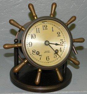 Chelsea Ships Bell Clock.