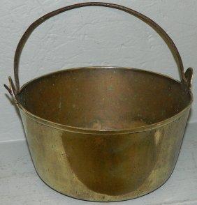 19th C Cast Brass Jelly Bucket.