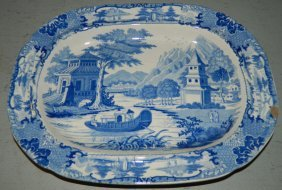 Early Historical Small Transfer Platter.
