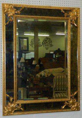 Baroque Style Gilt Mirror.