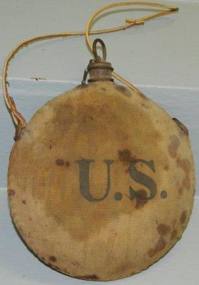 U.s. Indian War Canteen