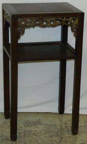 Oriental Teak Wood Stand.
