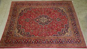 "9'10"" X 12' 6"" Antique Persian Sarouk"