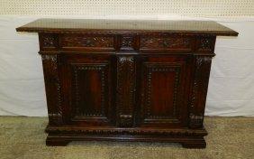 19th C. Italian Baroque Sideboard