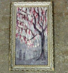 BEAUTIFUL PAINTING SIGNED BY FAUDREE - FRAMED