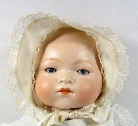 ARMAND MARSEILLE BABY DOLL W/ CLOTH BODY