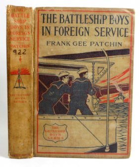 """1911 """"the Battleship Boys In Foreign Service"""" Hardcover"""