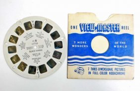 Vintage Little Black Sambo View Master Reel