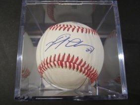 Miguel Cabrera Signed Baseball