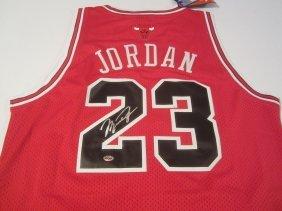 Michael Jordan Auto Jersey