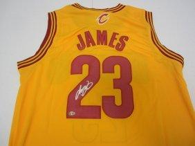 Lebron James Signed Jersey