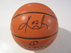 Yrie Irving Signed Basketball