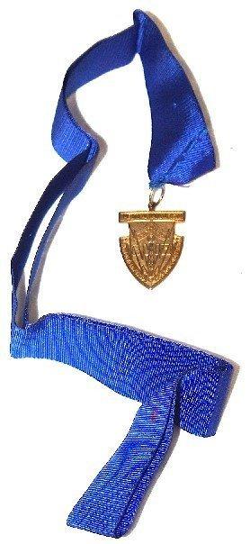 Award Medal W/ribbon In 1990