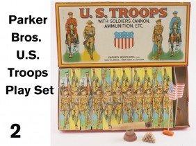 Parker Bros. U.S. Troops Play Set