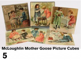 McLoughlin Mother Goose Picture Cubes