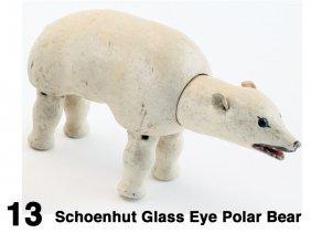 Schoenhut Glass Eye Polar Bear