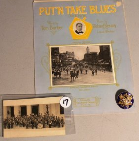 Spring Garden Band, York Co, PA Memorabilia