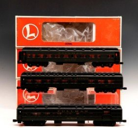 Lionel NYC Pullman Cars