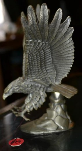 Lance Fine Pewter Eagle Lot 105