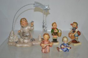 Grouping Of Five Hummels Figures