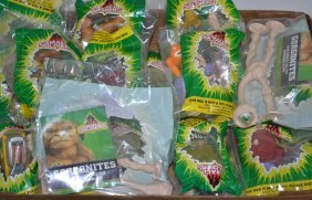 Nineteen Commando Elite & Gorgonites Collectibles