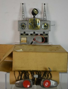 Remco Radio Station In Original Box
