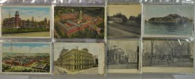 Appro. 80 First Half 20thc.post Cards