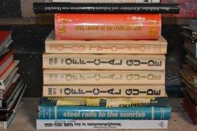 Ten Railroad & Model Train Related Books