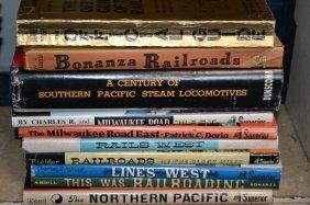 Ten Railroad & Locomotive Related Books
