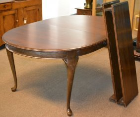 Queen Anne Style Dining Room Table