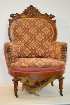 High Quality 19th Century Victorian Chair