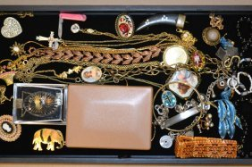 Grouping Of Assorted Costume Jewelry