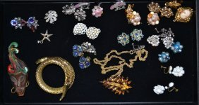 Misc. Makers Costume Jewelry Costume Lot