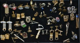 Misc. Lot Of Men's Jewelry