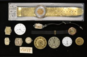 Misc. Grouping Of Pocket Watch Movements