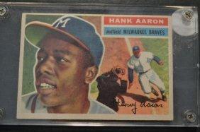 1956 Topps Hank Aaron # 31 Baseball Card
