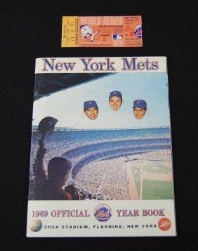 1969 New York Mets Official Year Book