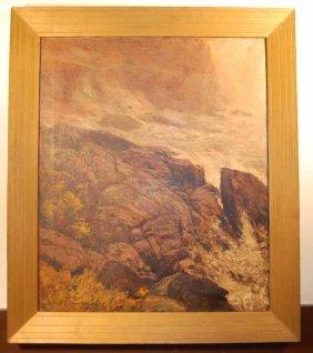 Edward Parker Hayden Oil On Canvas