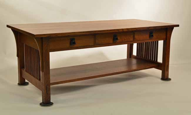 Stickley Oak Modern Coffee Table Lot 231