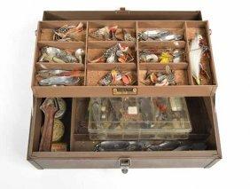 Metal Kennedy Fishing Tackle Box