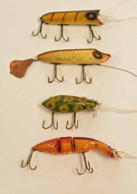 4 Heddon Fishing Lures