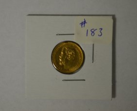 1898 Gold Russian Coin